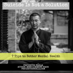 SUICIDE IS NOT A SOLUTION